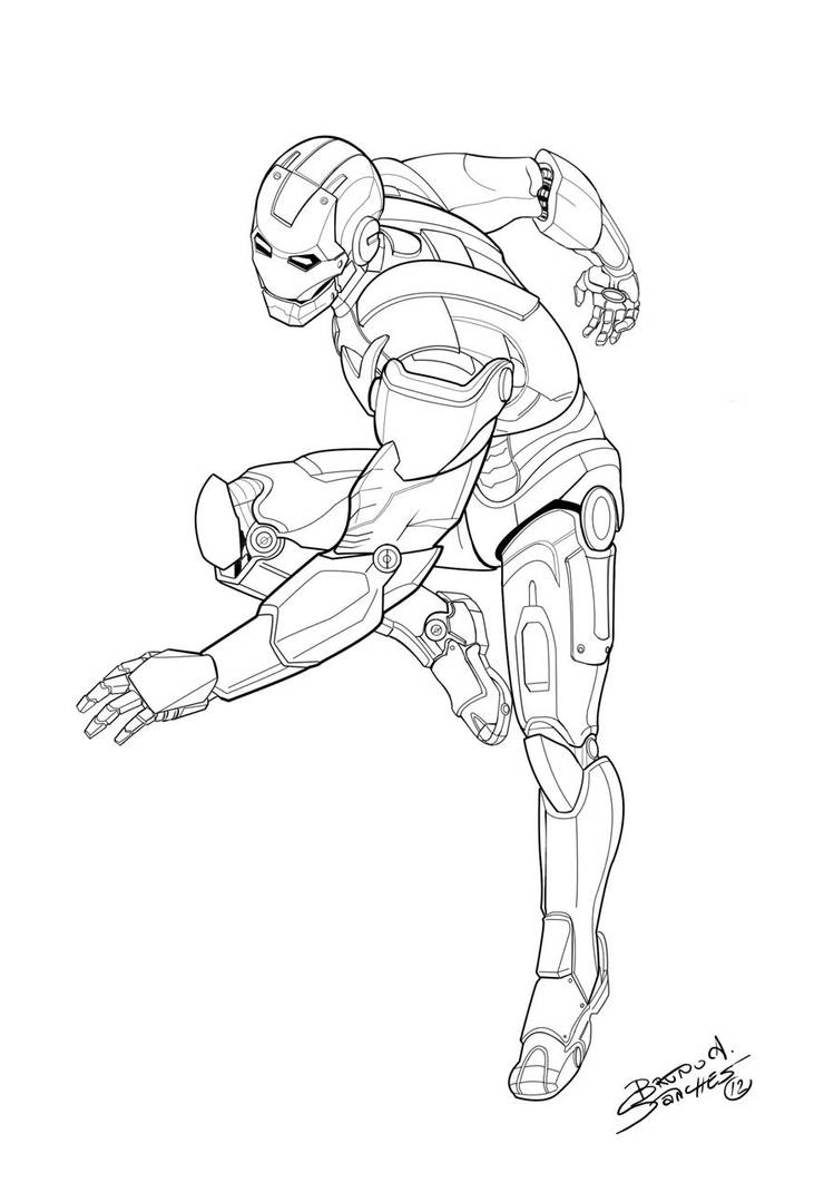 Iron Man by Brunoultimate