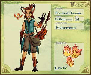 Grimm Almaria- Percival by StarLight-StarFish