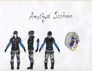 Zytrigos Character Concept: Amethyst by HarryBillyBobGeorge