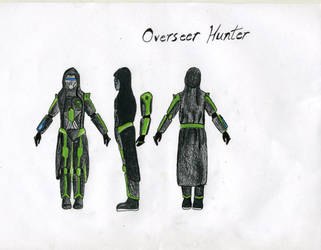 Zytrigos Character Concept: Overseer Hunter by HarryBillyBobGeorge