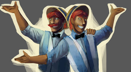 Cider Brothers by blu-red