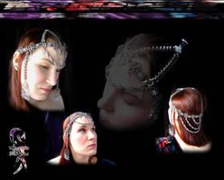 Teardrop Headdress by disscordia