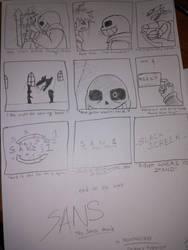 SANS the movie- last shot by RevengeIrys