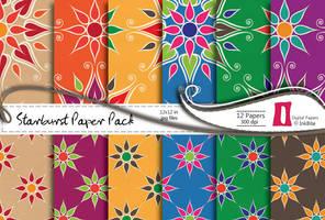 Starburst Paper Pack by naga-pree
