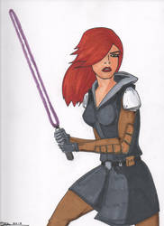 Mara Jade by Wicked-Texan