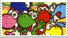 Yoshi's Story Stamp I by rock-paper-mario