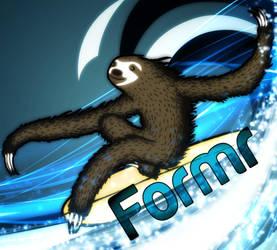 Avatar Formr Surfing Sloth by tefllon