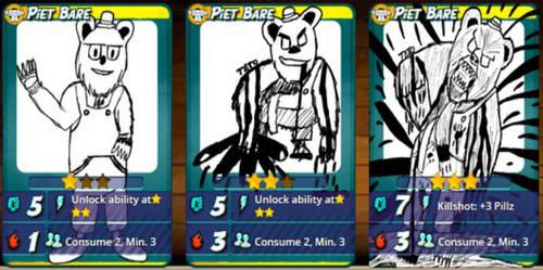 Bonus: Piet Bare Card - Urban Rivals by tefllon