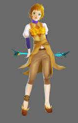 FEZ - Female Sorcerer by resa12354