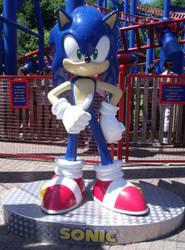 Sonic Spinball Statue by KatMaz
