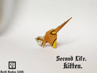 Second Life Kitten - Barth Dunkan. by Barth-Dunkan