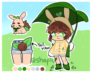 LeafyBun Adoptable AUCTION by Shepiu
