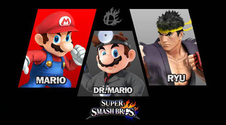My Mains in Smash 4 by MegaMario99