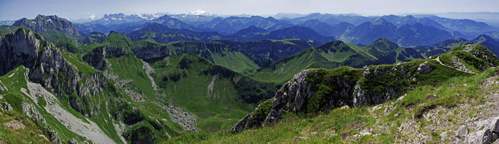 Massif de Haute Savoie by Bolbitius-Vitelinius