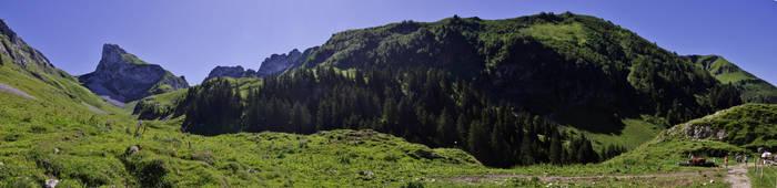 Massif de Haute Savoie II by Bolbitius-Vitelinius