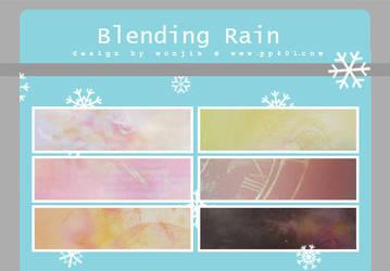 blending rain by wonjin