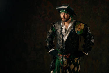 Warhammer FB - Empire Captain Oswald Bauer by OrangeRoom