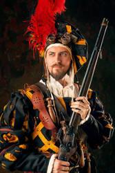 Warhammer FB -  Empire Engineer Schultz Sharp by OrangeRoom