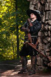 Warhammer FB -  Capitano Daresso Belmondo by OrangeRoom