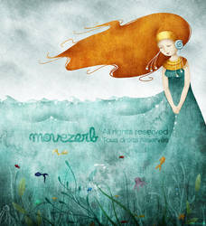 The ocean dress by Movezerb