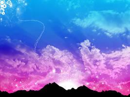 Mountain Stars by kandiart
