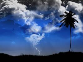 Stormy Sky by kandiart