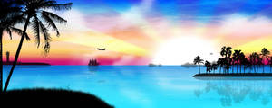 Tropical Heat dual view by kandiart