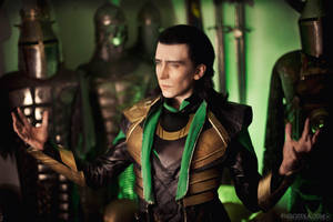 King Loki by TheIdeaFix