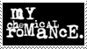 My Chemical Romance Logo 1 Variation 2 Stamp by Mangastarr