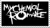 My Chemical Romance Logo 2 Stamp by Mangastarr