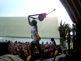 Pierce the Veil Guitar Spin by neverhurtno1