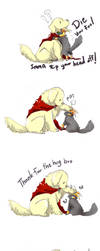 DogThor CatLoki...Imma kill you by LittleDarkDragon