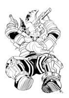 dwarf sketch by KennoArkkan