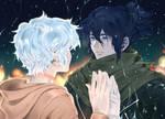 Nezumi. No.6 anime fanart. by Taiss14