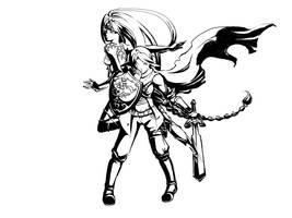 Legend of Zelda - The hero rises by haithuong313