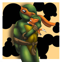 A Turtle And His Cat by SashaTheCheetah