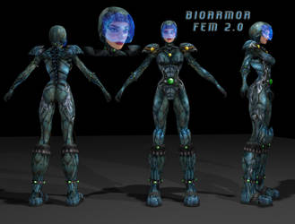 BioArmorFem 2.0 by EvilEngine