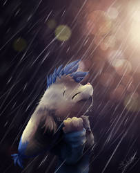 Take your Hood off in the Rain by SonicSketch