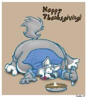 Thanksgiving fattyfatfatfat by teaselbone