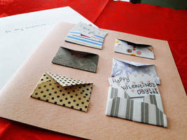 Handmade Valentine's Day Card by cakecrumbs