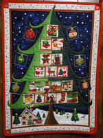 Advent Calendar Quilting Panel by cakecrumbs