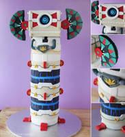 Skyward Sword :: Beamos Cake by cakecrumbs
