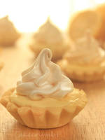 Lemon Meringue Petit Tarts by cakecrumbs