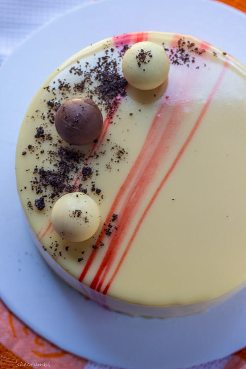 Honey Passionfruit Entremet by cakecrumbs