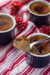 Gingerbread Creme Brulees by cakecrumbs