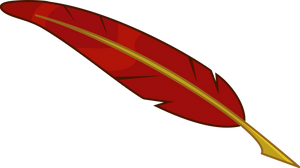 Vector: Quill pen by Fennrick