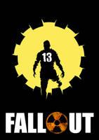 Fallout poster by PitchBlackYetis