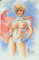 Powergirl NEW Uniform by MJBivouac
