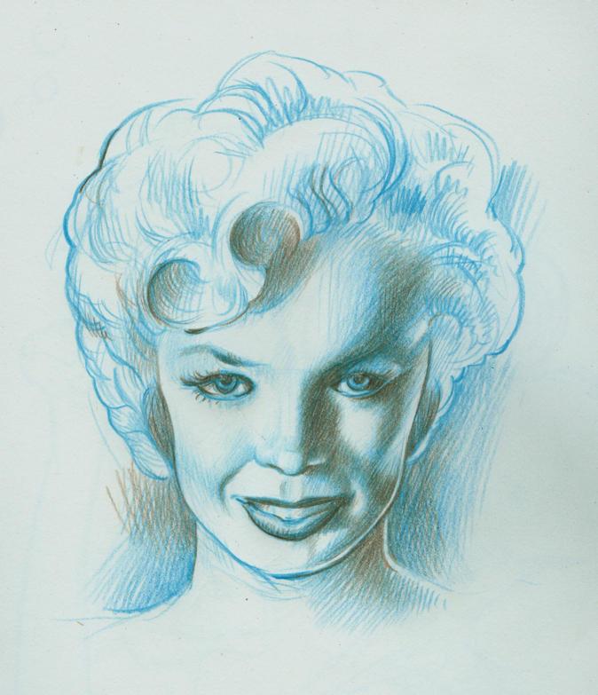 Marilyn Monroe by MJBivouac