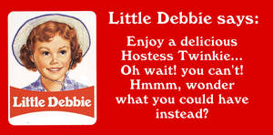 Why Little Debbie is smiling... by MJBivouac